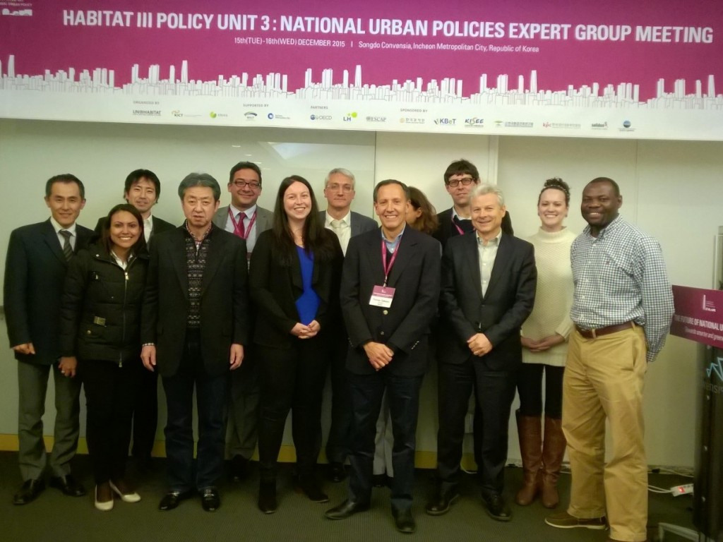 Habitat III Policy Unit 3 on National Urban Policies concludes its second meeting in South Korea