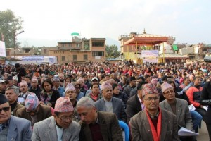 Nepal's Prime Minister launches the reconstruction campaign and witnesses the signing of collaboration with UN-Habitat.