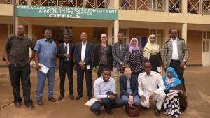 UN-Habitat's One-Stop Youth Centre in Rwanda inspires Somalian Delegation