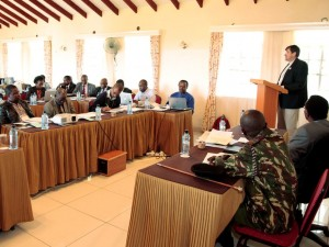 Academicians and chairs of East African professional bodies discuss architecture and urban planning