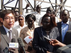 Japan empowers South Sudan Communities through provision of basic services