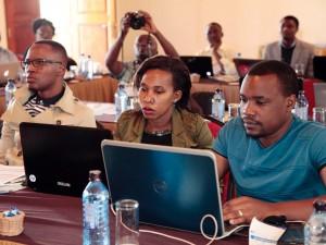 Media workshop in Machakos, Kenya.