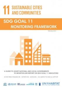 SDG Goal 11 Monitoring Framework