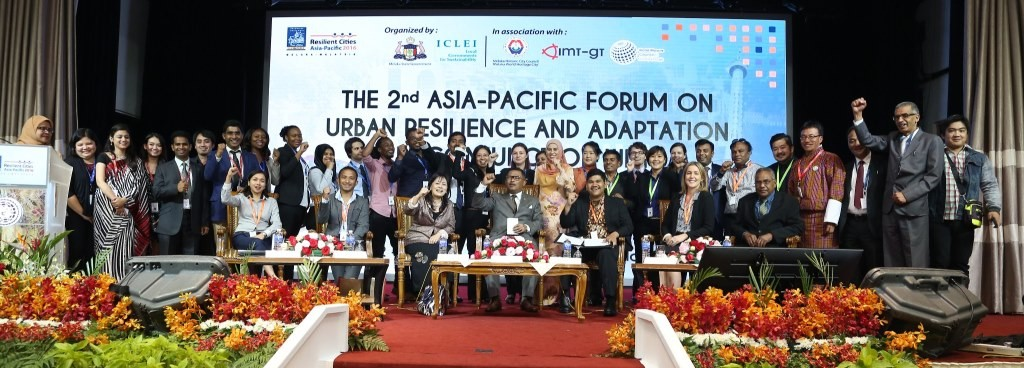 Calls for People-Centred Local Action at Resilient Cities Conference, Asia-Pacific1