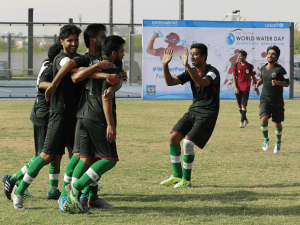 UN-Habitat and UNICEF host football tournament to  mark World Water Day