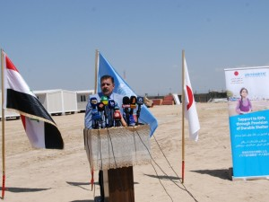 UN-Habitat celebrates IDP Shelter Site in Iraq, Launches two further projects
